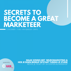 Secrets to become a great marketeer