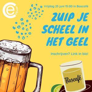 25 jun: Zuip je scheel in het geel @ Bascafé