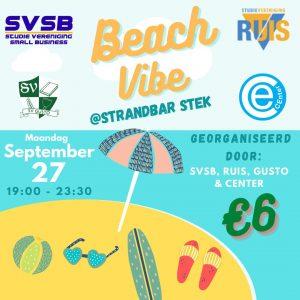 Wachtlijst: Beach vibe @Strandbar Stek